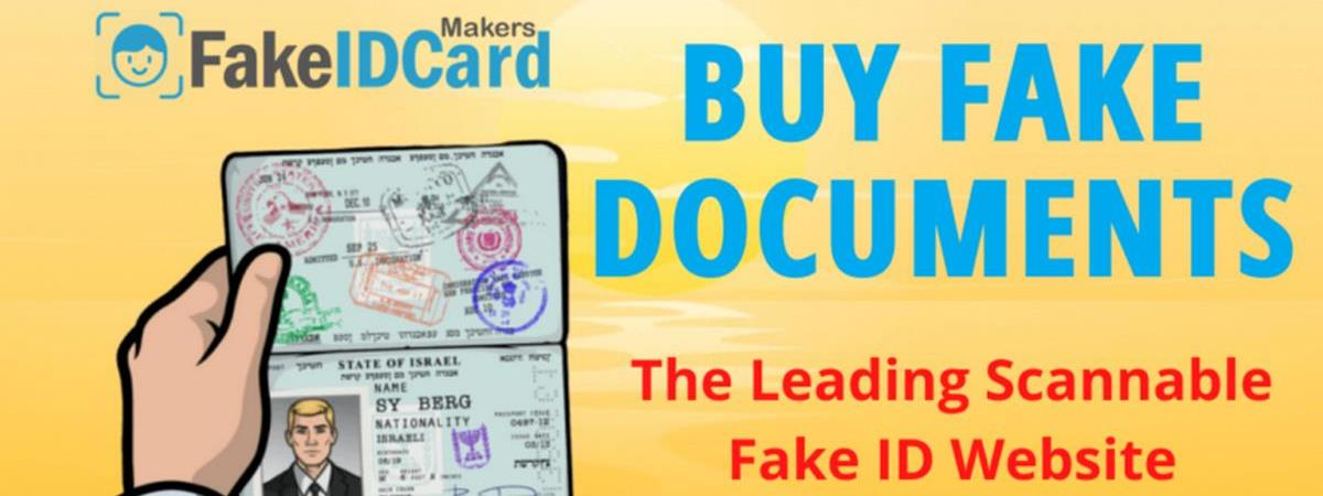 Fake Documents Banner